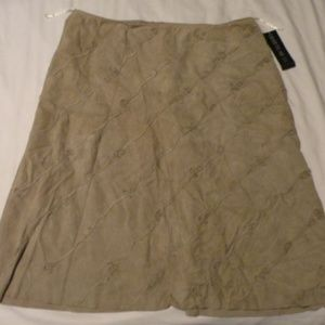 Lafayette 148 New York Suede size 16 Skirt